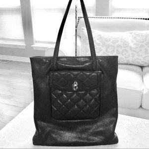 Juicy Couture Soft 💯% Leather Shopper EUC